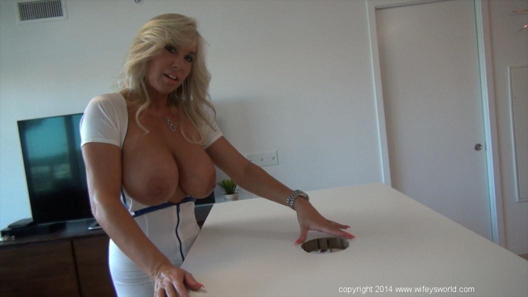 After Work Relaxation With Busty Cum Loving Milf Slut Wifey